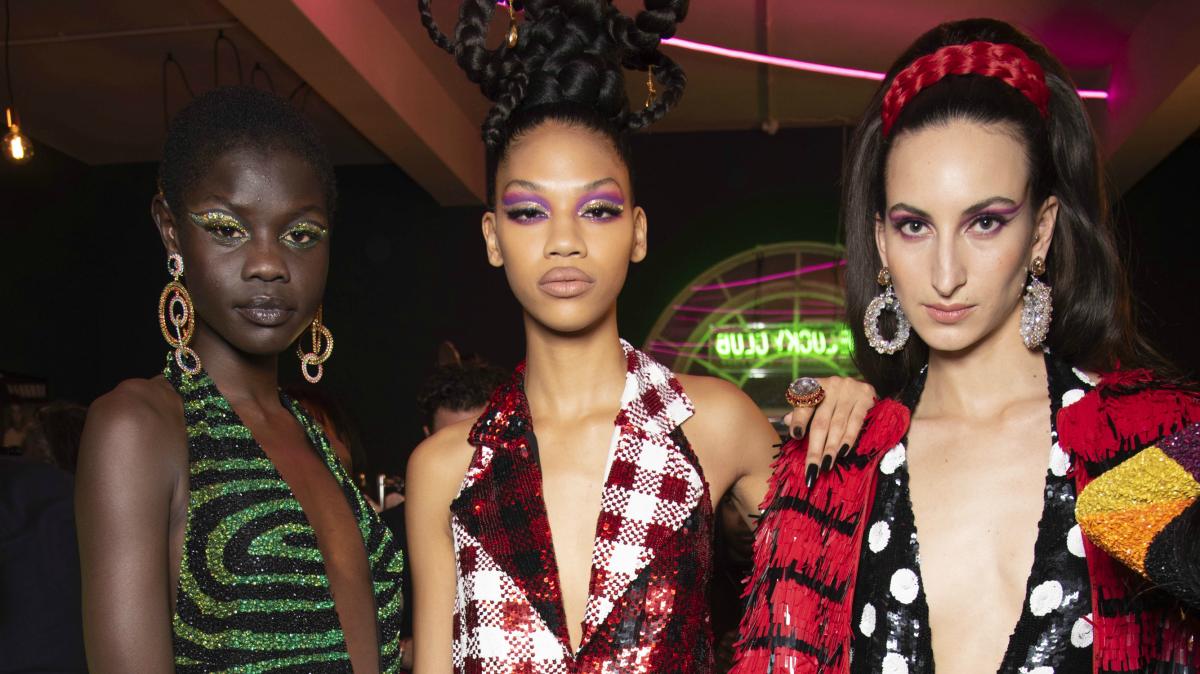 5 Eye-Catching Beauty Trends From London Fashion Week - Fashionista