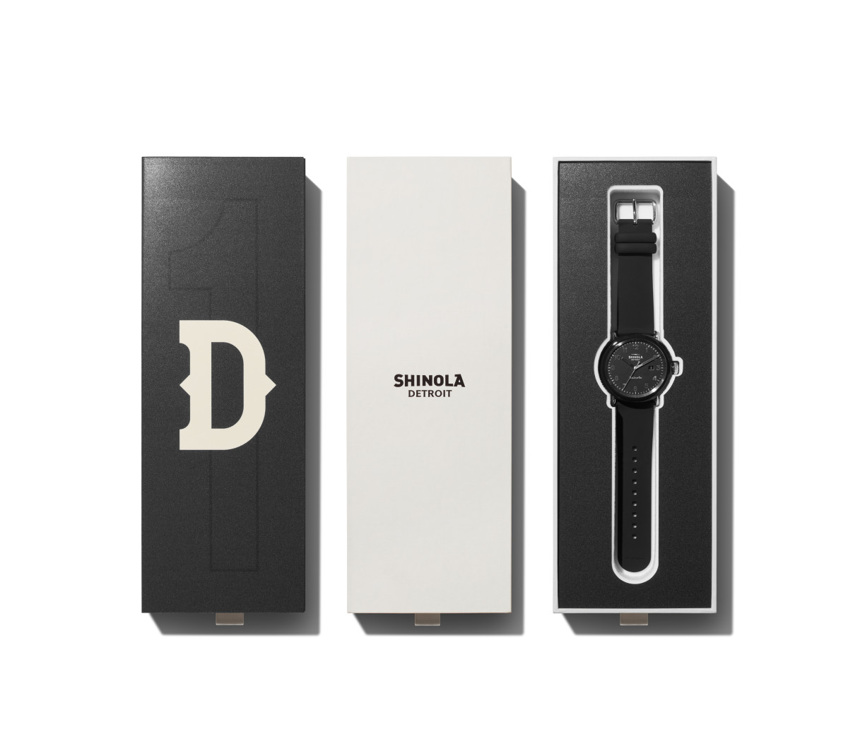 A watch from Shinola's Detrola collection.
