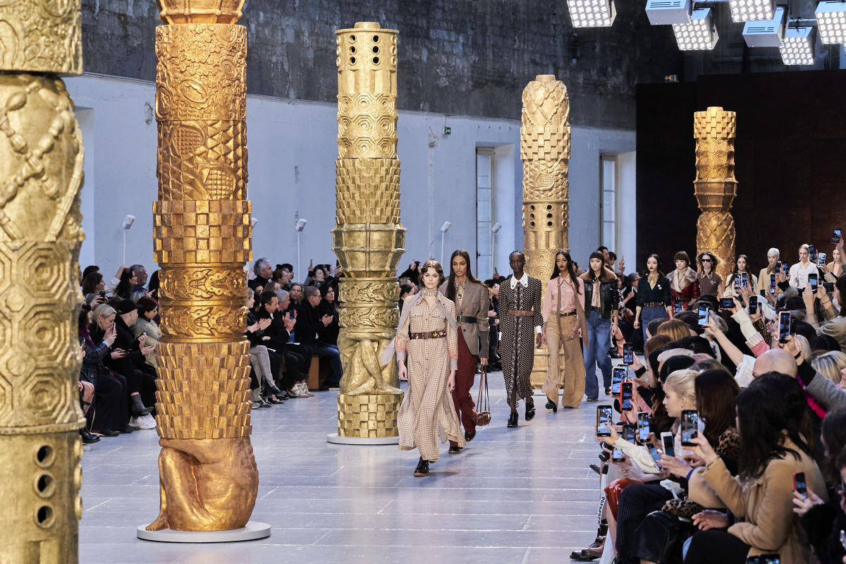 The finale from Chloé's Fall 2020 show.