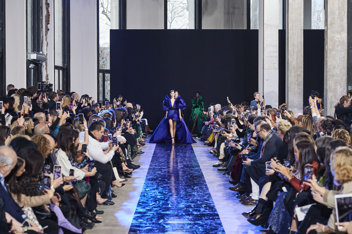 The finale from the Elie Saab Fall 2020 collection.