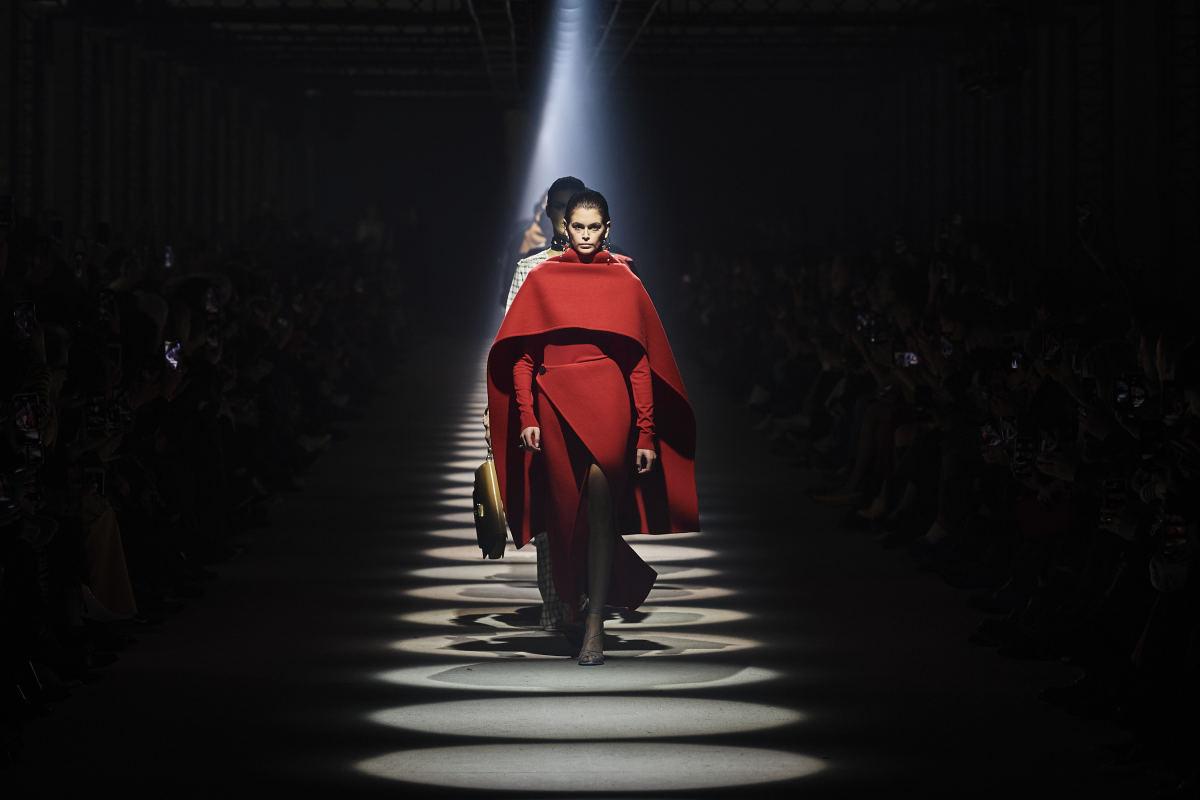 Looks da coleção Givenchy Fall 2020.