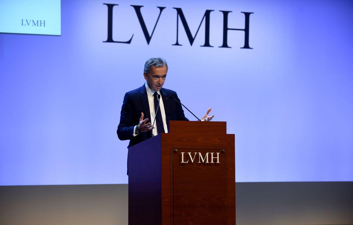 LVMH Chairman and Chief Executive Bernard Arnault.
