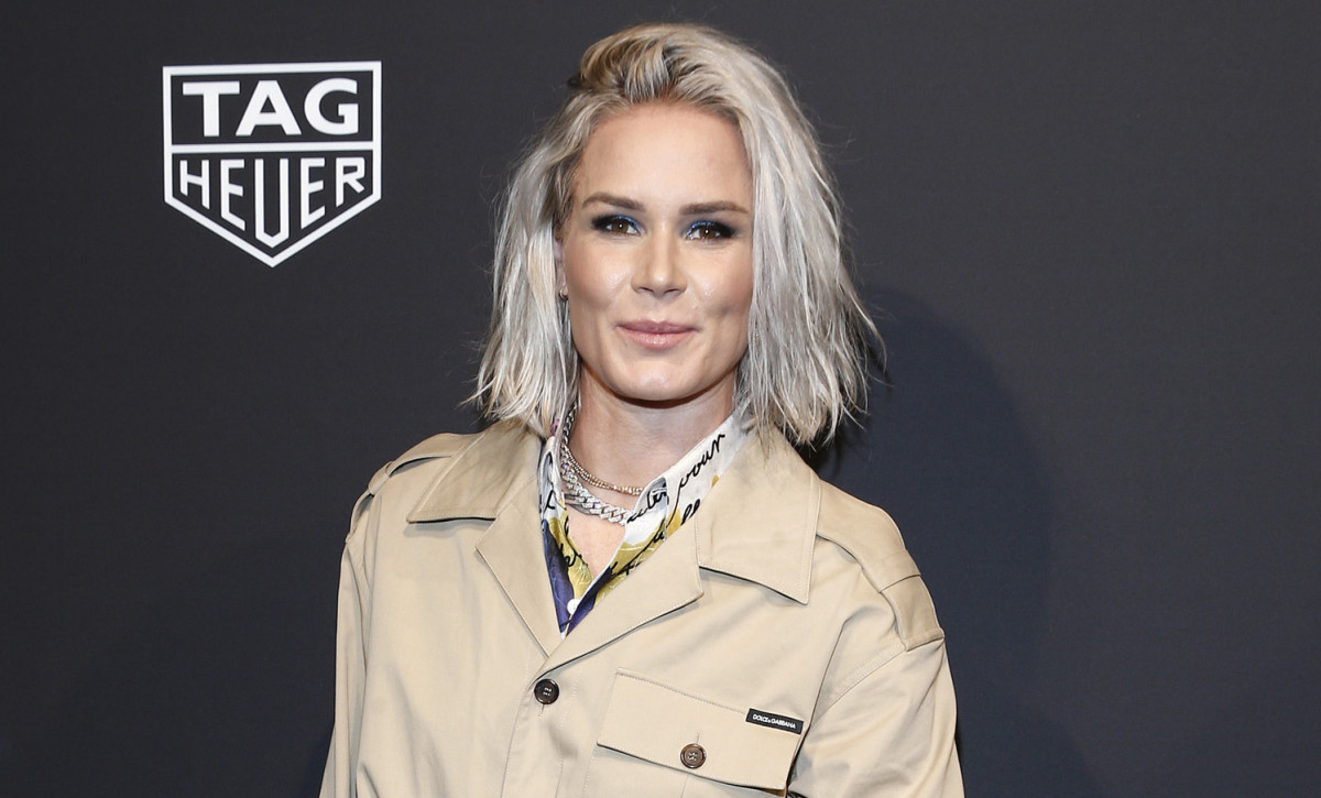 Ashlyn Harris Tag Heuer Conectado Evento de Nova Iorque 2020 Getty Images