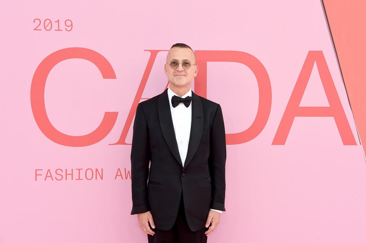 Steven Kolb at the CFDA Fashion Awards in 2019.