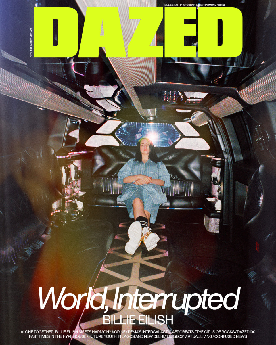 fashion DAZED_SS20_COVER