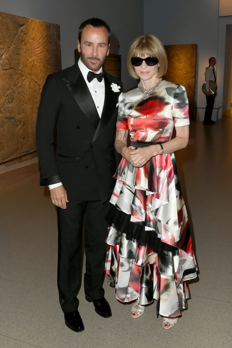 Tom Ford and Anna Wintour at the 2019 CFDA Awards.