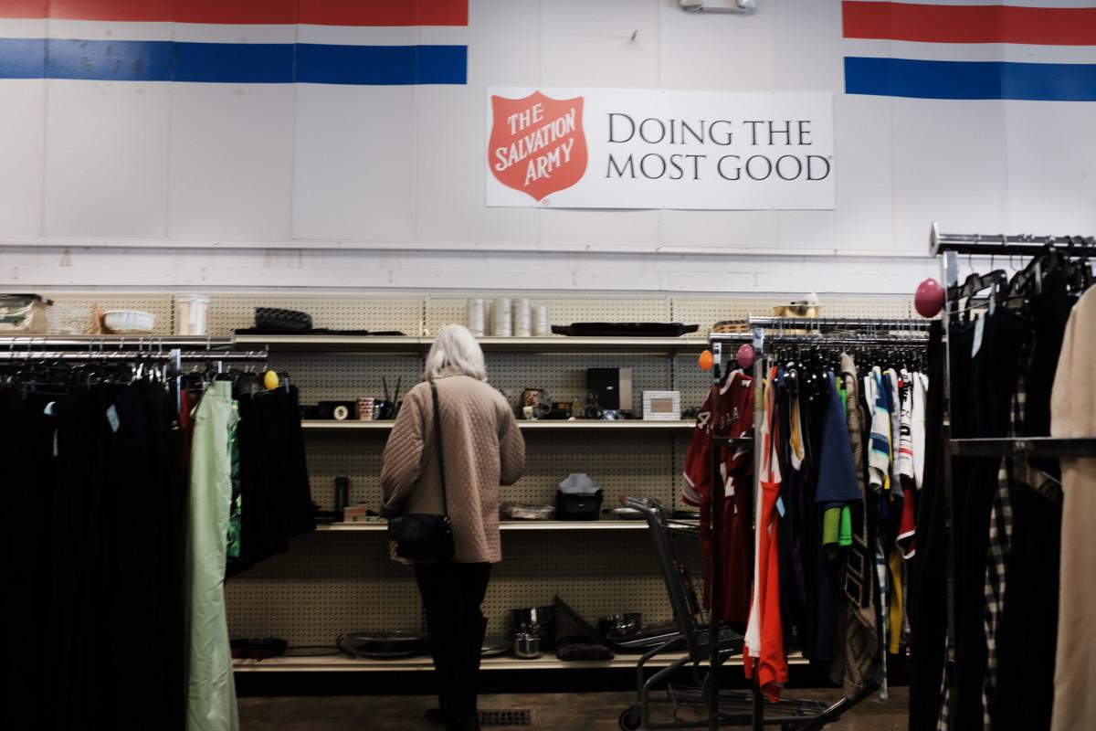 salvation army store clothing donations coronavirus