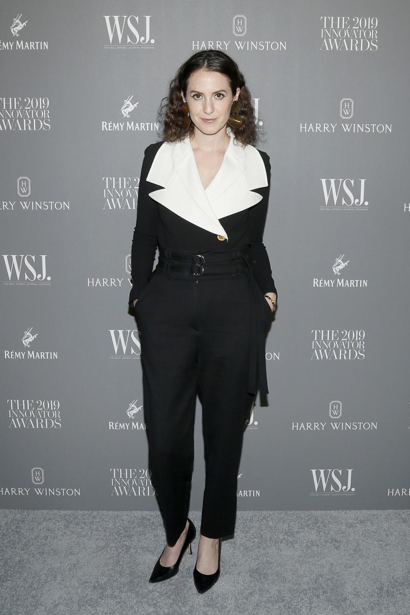 fashion 'W' Magazine editor in chief Sarah Moonves.