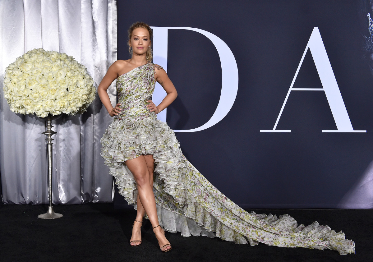 McNeal worked with Jason Rembert when he styled Rita Ora. Here, she's wearing Giambattista Valli at the premiere for 'Fifty Shades Darker.'