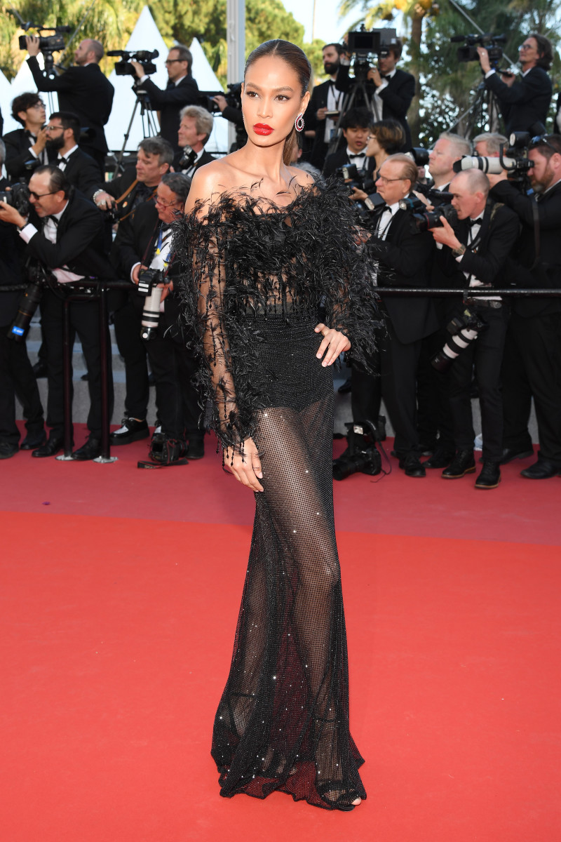 Smalls at the 2018 Cannes Film Festival wearing custom Cavalli, one of McNeal's favorite looks.