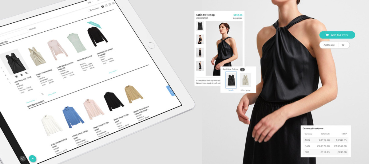 Nuorder allows retailers to place orders digitally.