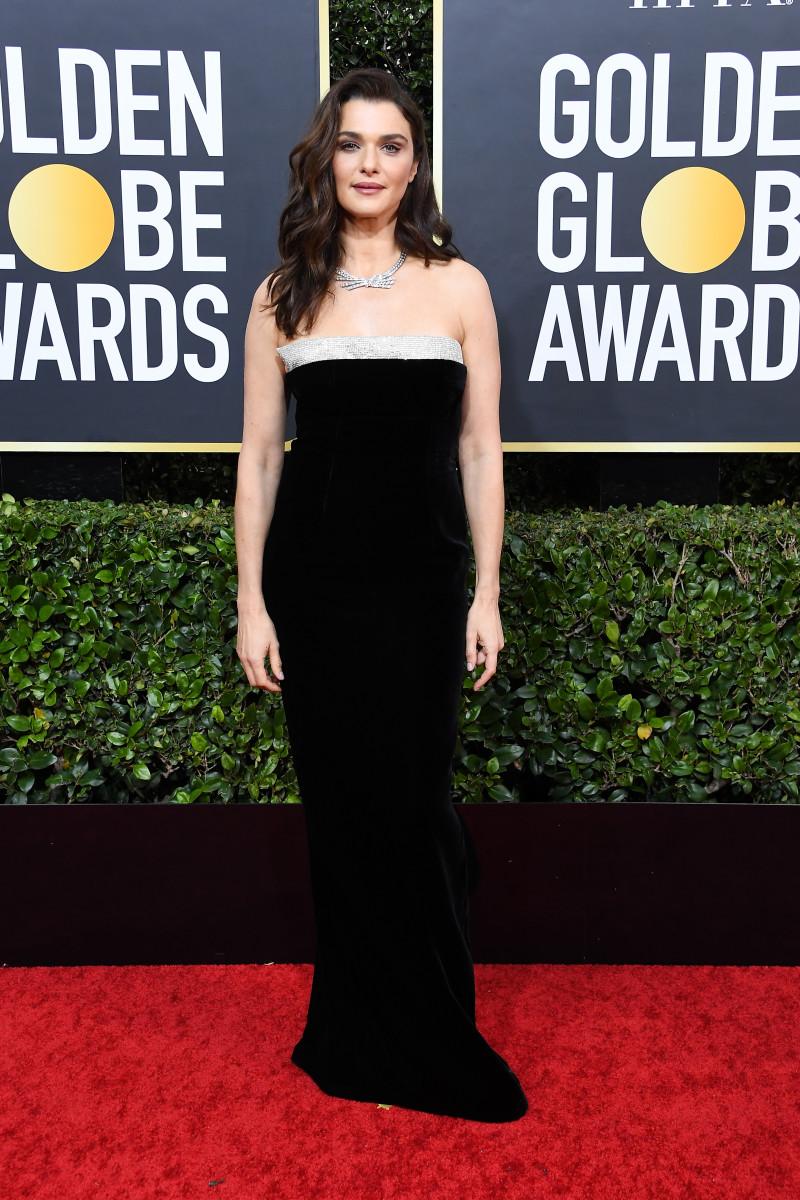 fashion Rachel Weisz at the 77th Golden Globes Awards