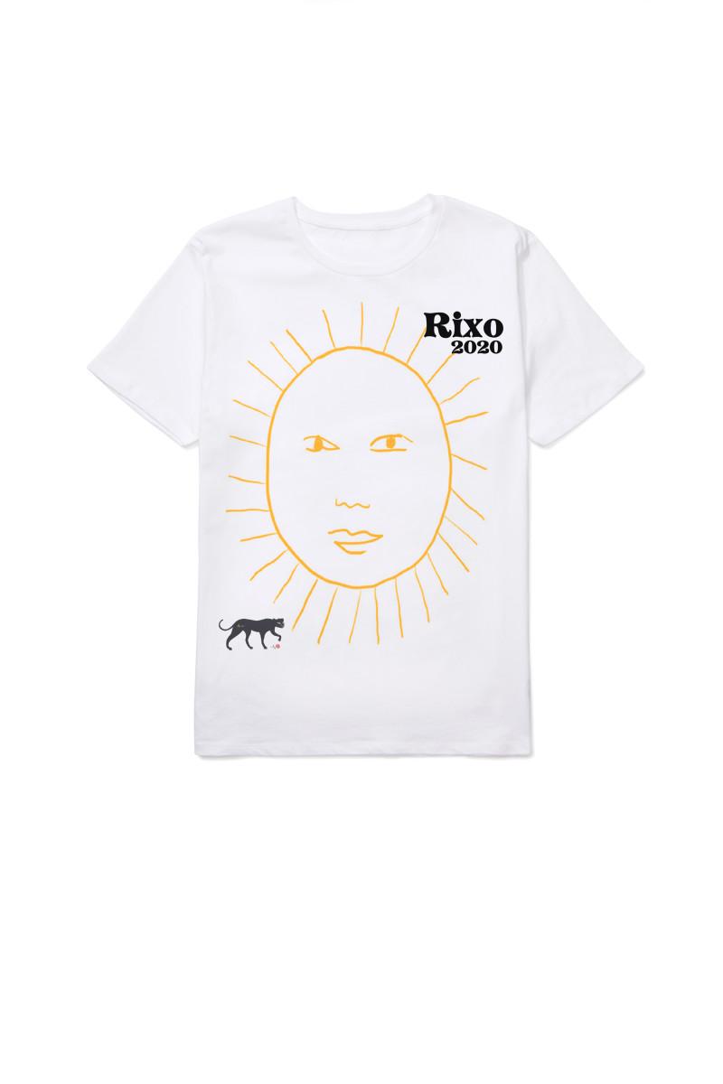 Rixo 'Stay at Home' T-shirt