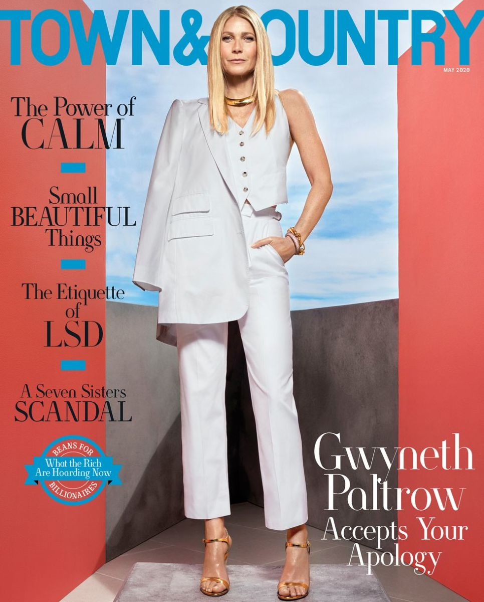 gwyneth paltrow town country may 2020 cover