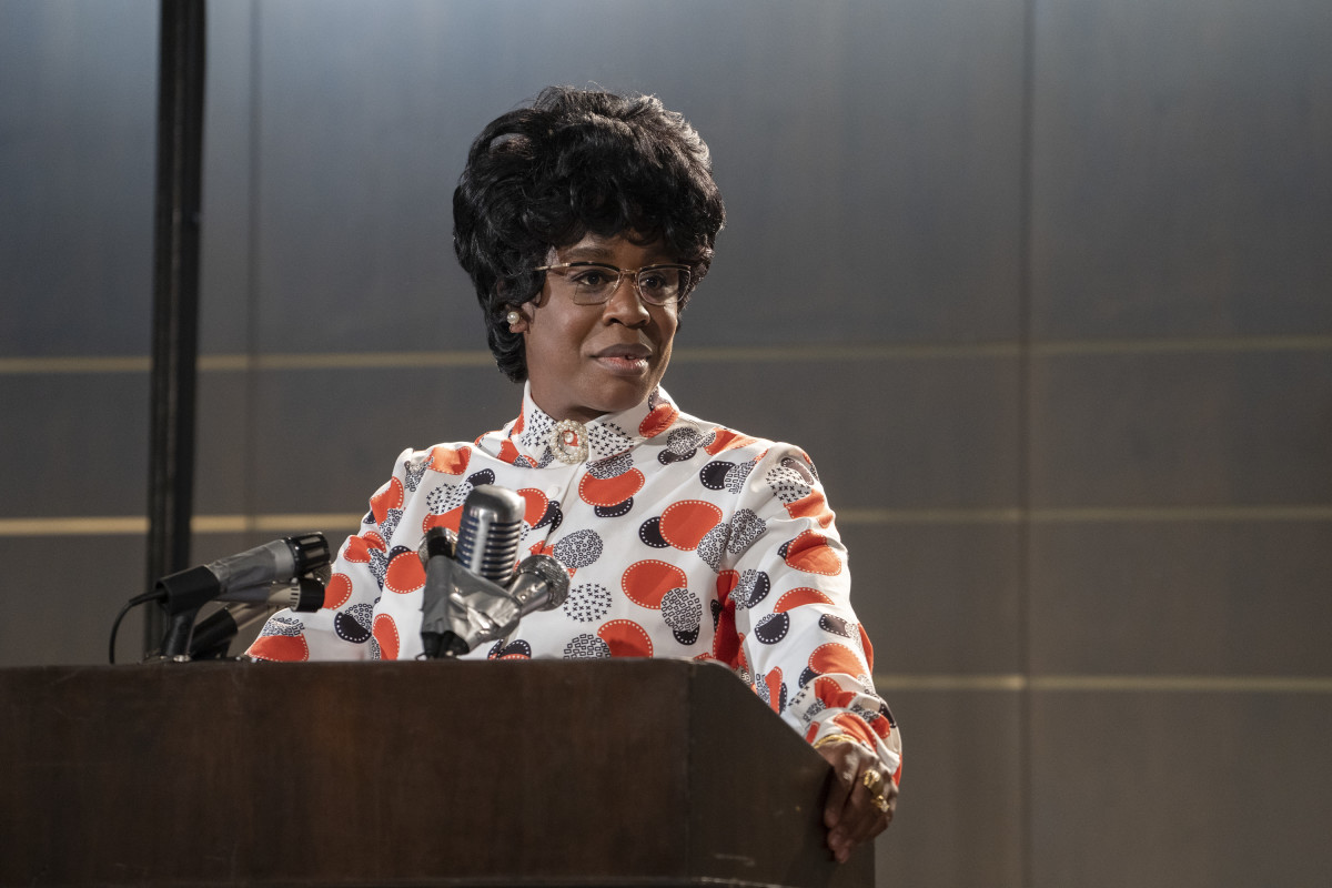 Shirley Chisholm (Uzo Aduba) at the Miami Beach Democratic National Convention