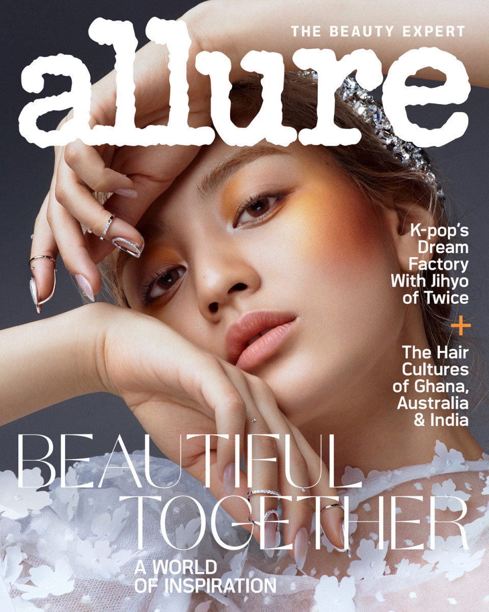 Jihyo of Twice on the May 2020 cover of 'Allure.'