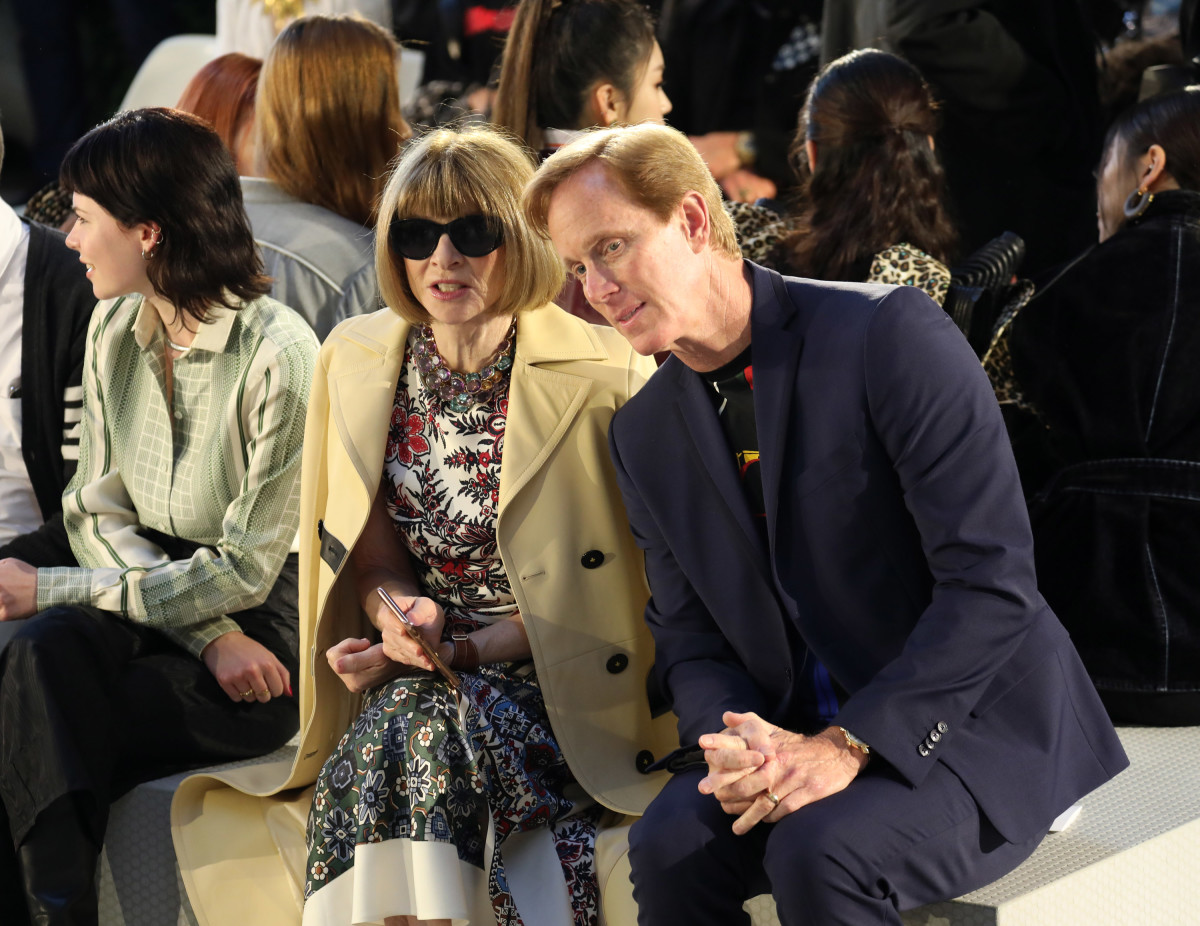Anna Wintour and Roger Lynch.