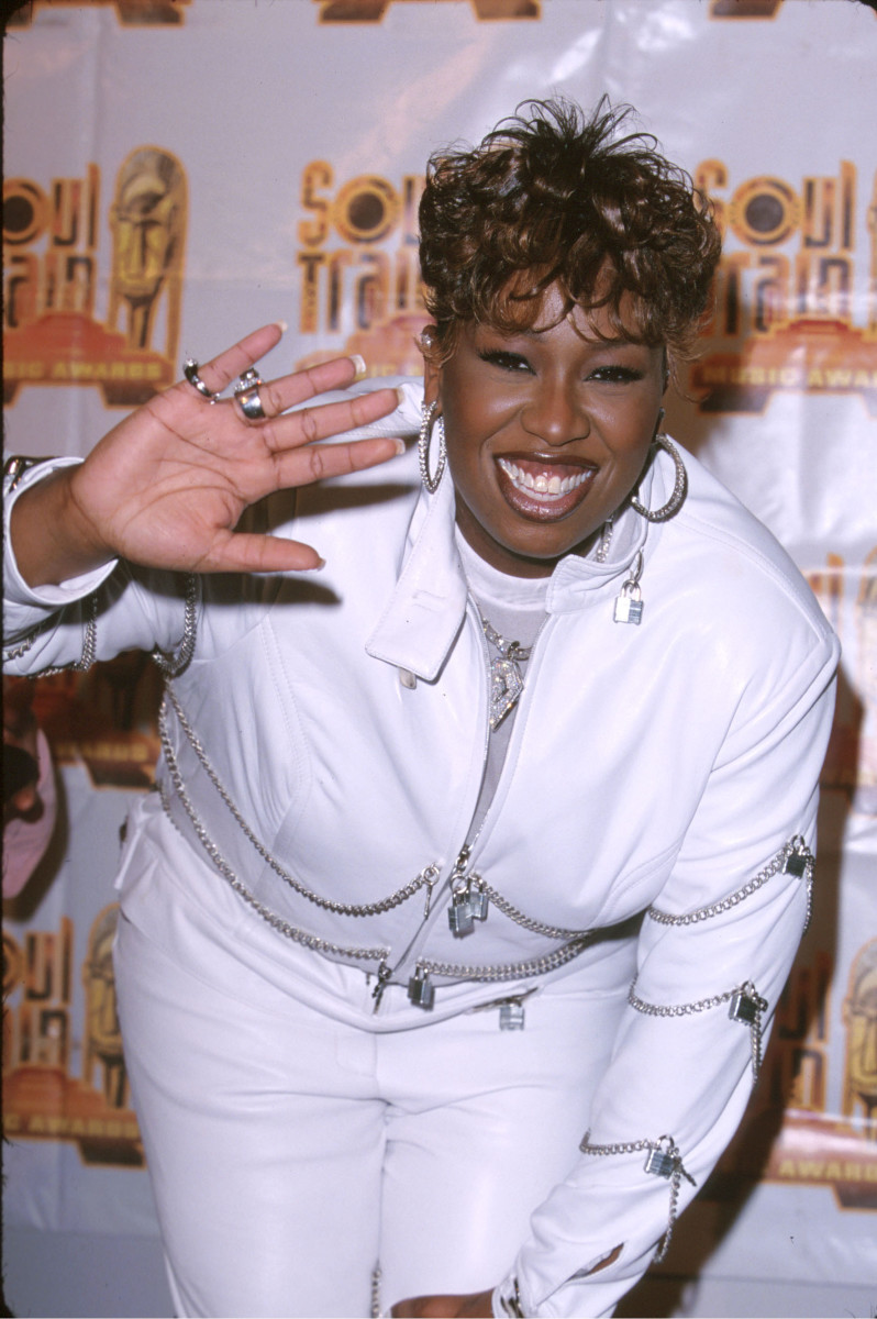 Missy Elliott bei den Soul Train Awards im Jahr 2000.