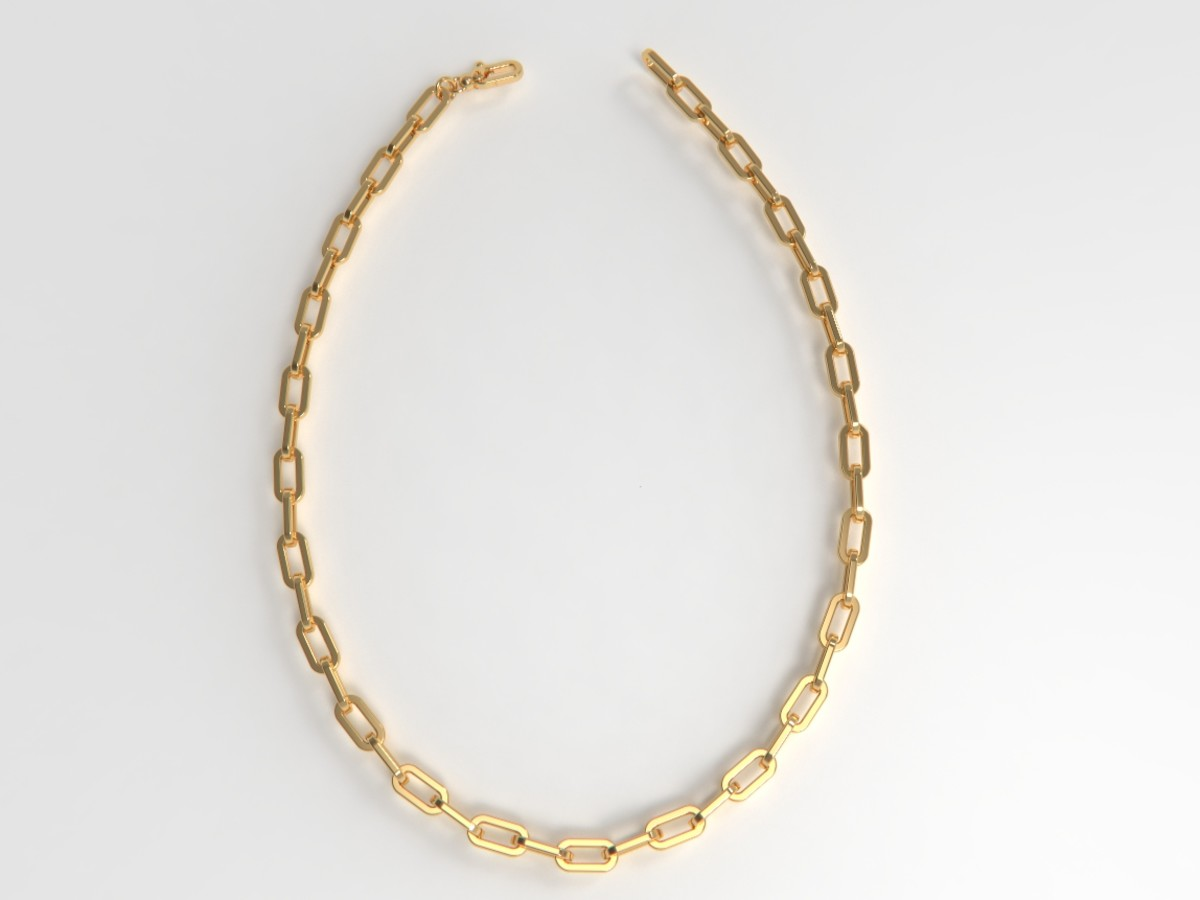 The Chain Even In The Bubble Bath Necklace With Diamonds, $549-$4,499, available here.
