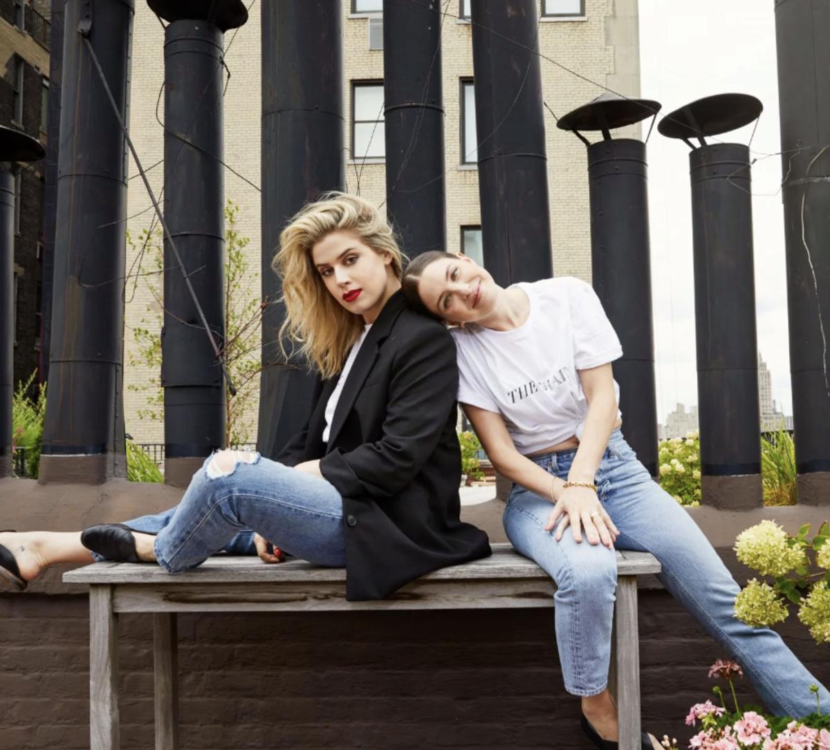 Christina Grasso und Ruthie Friedlander, die Mitbegründer von The Chain.