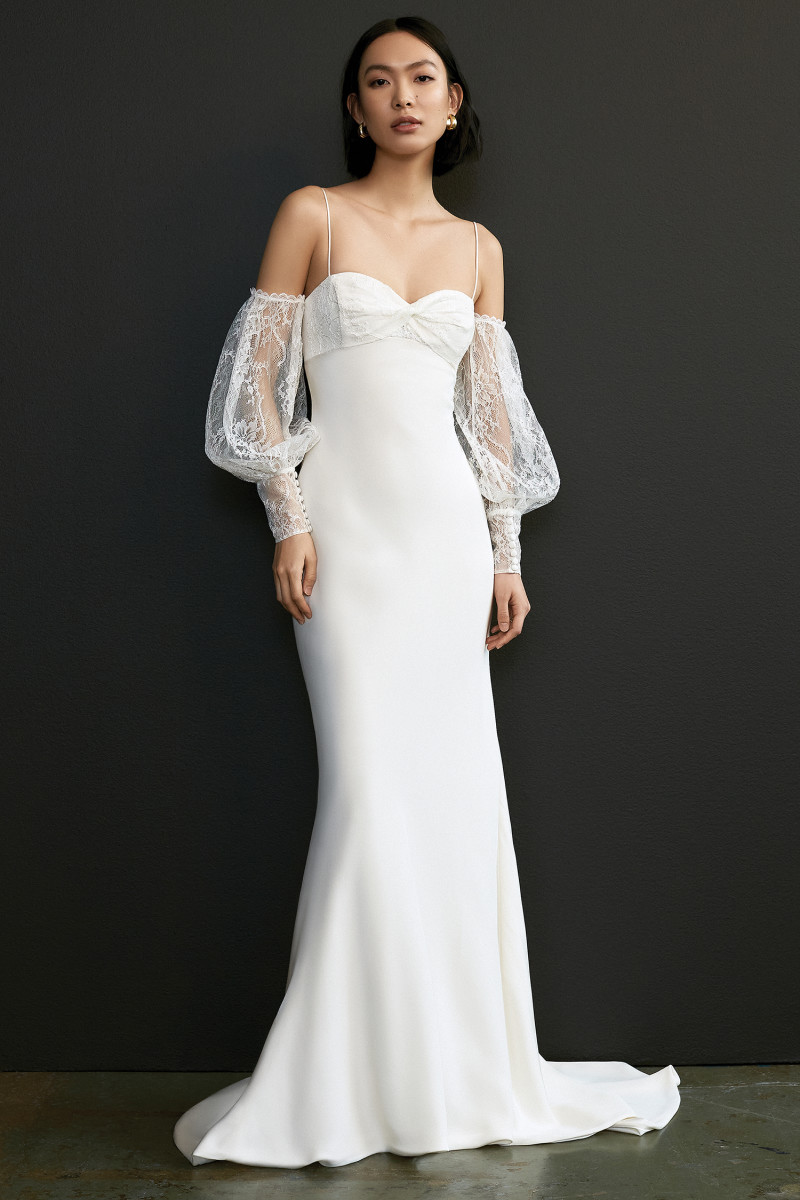 The Luella wedding dress from the Savannah Miller Spring 2021 collection.