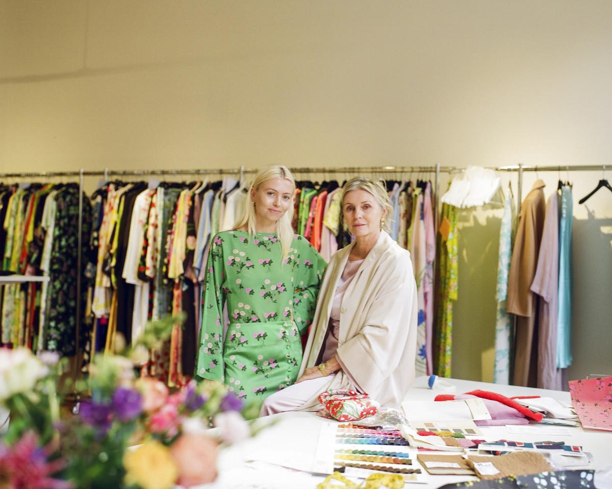Mother-daughter creative duo Bernadette and Charlotte De Geyter.