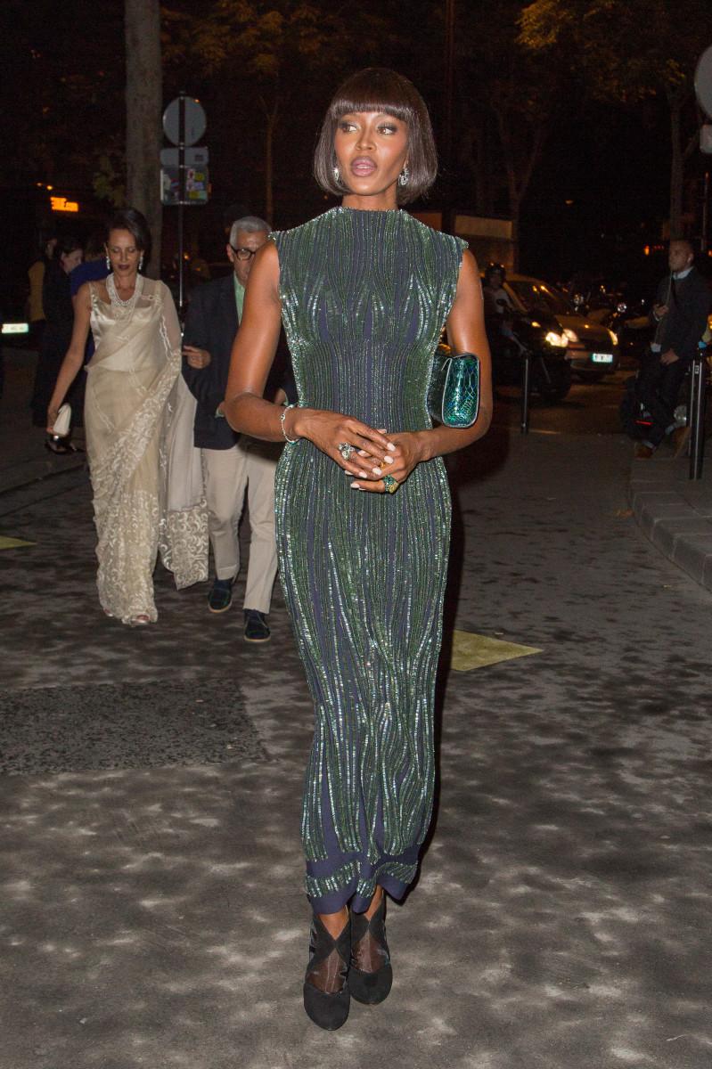 Naomi Campbell in Azzedine Alaïa, 2013.