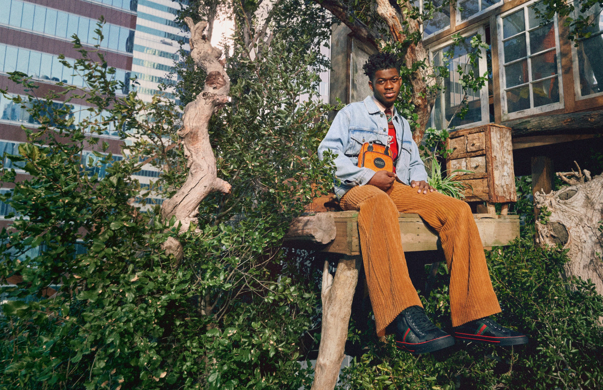 Lil Nas X for Gucci Off the Grid.
