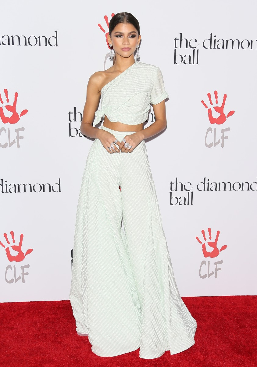 Zendaya 2015 Rihanna Diamond Ball Rosie Assoulin