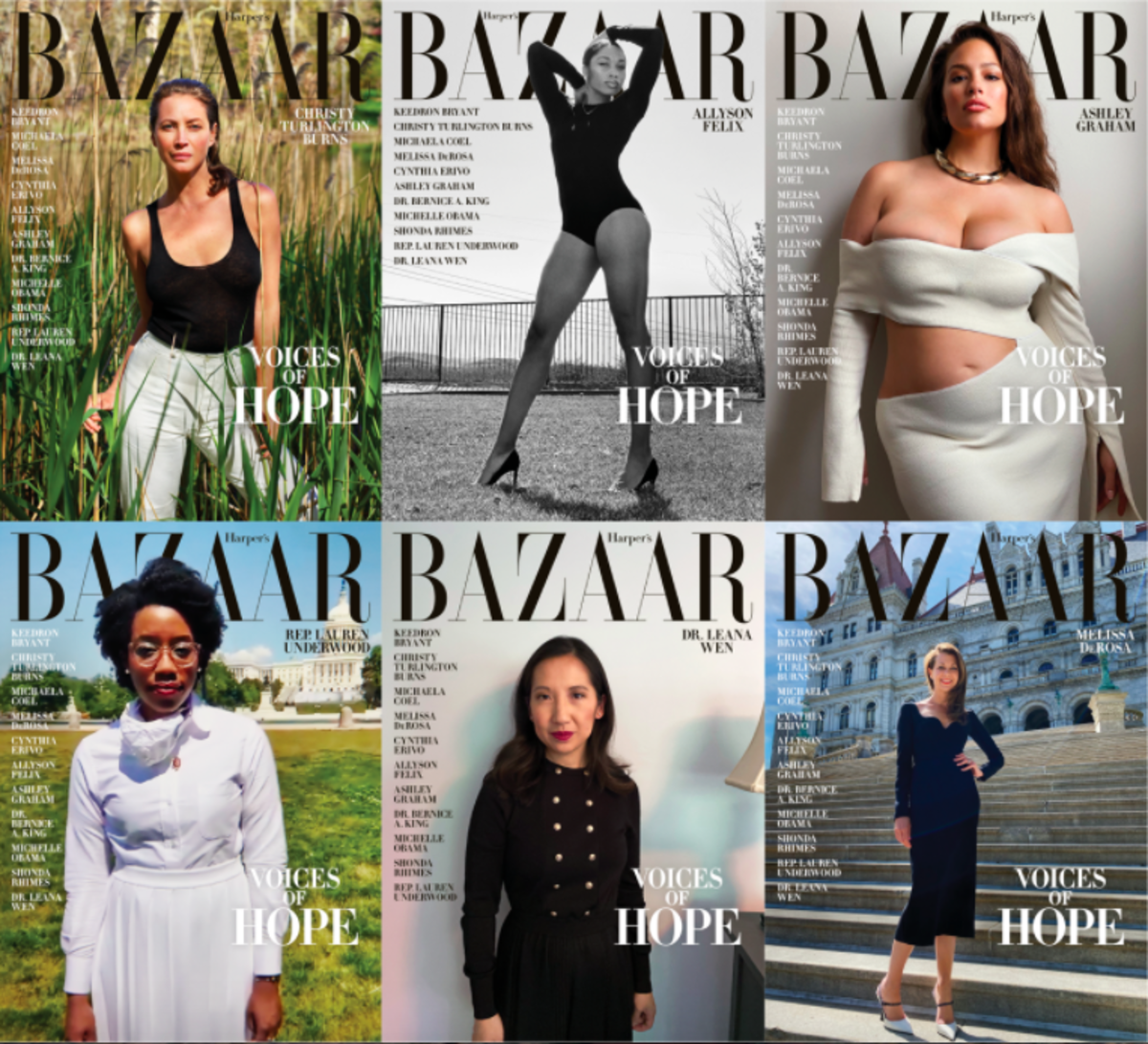 harpers bazaar voices of hope