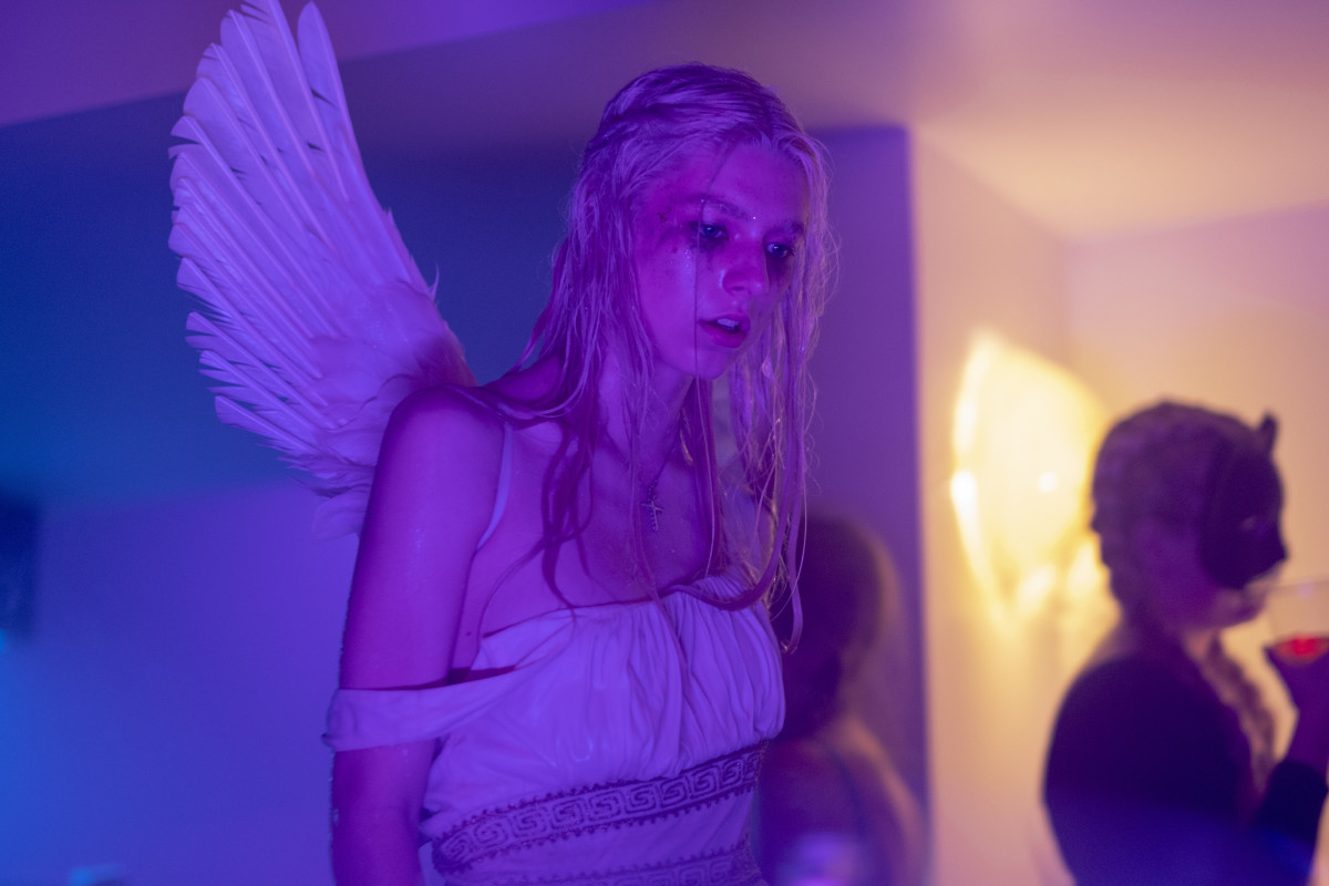 Jules (Hunter Schafer) in 'Euphoria.'