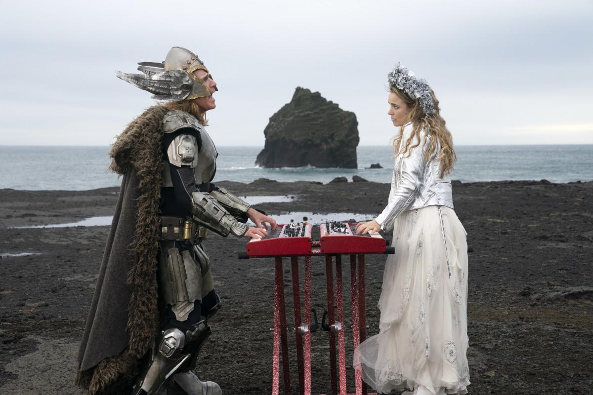 Lars (Will Ferrell) and Sigrit (Rachel McAdams).