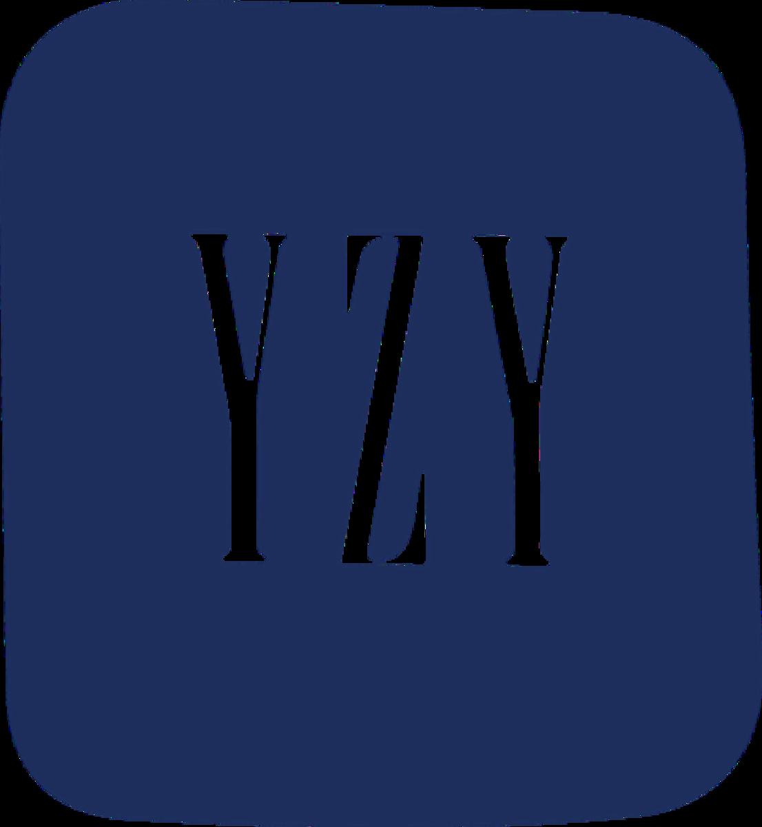The new Yeezy Gap logo.