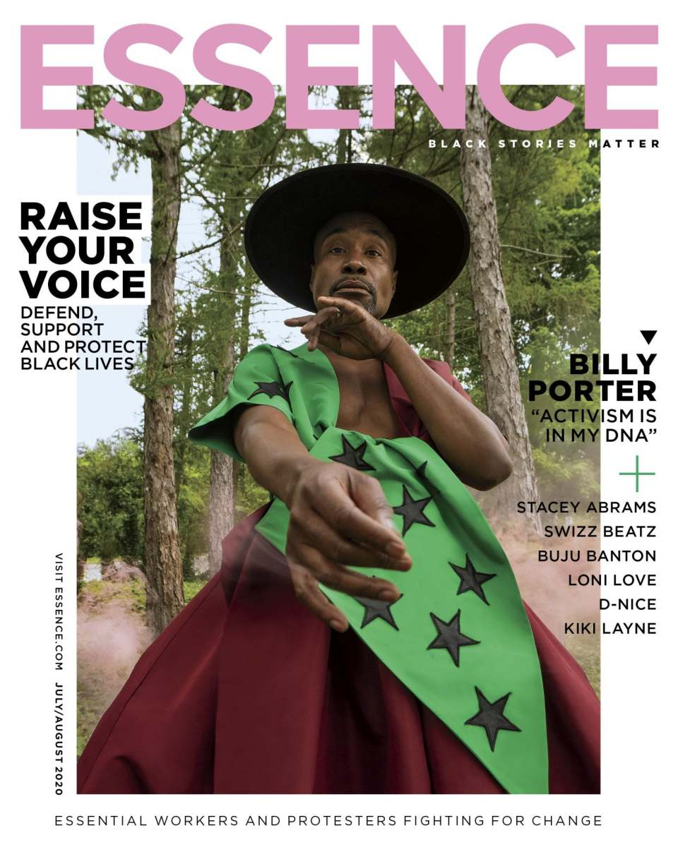Billy Porter on the July/August issue of