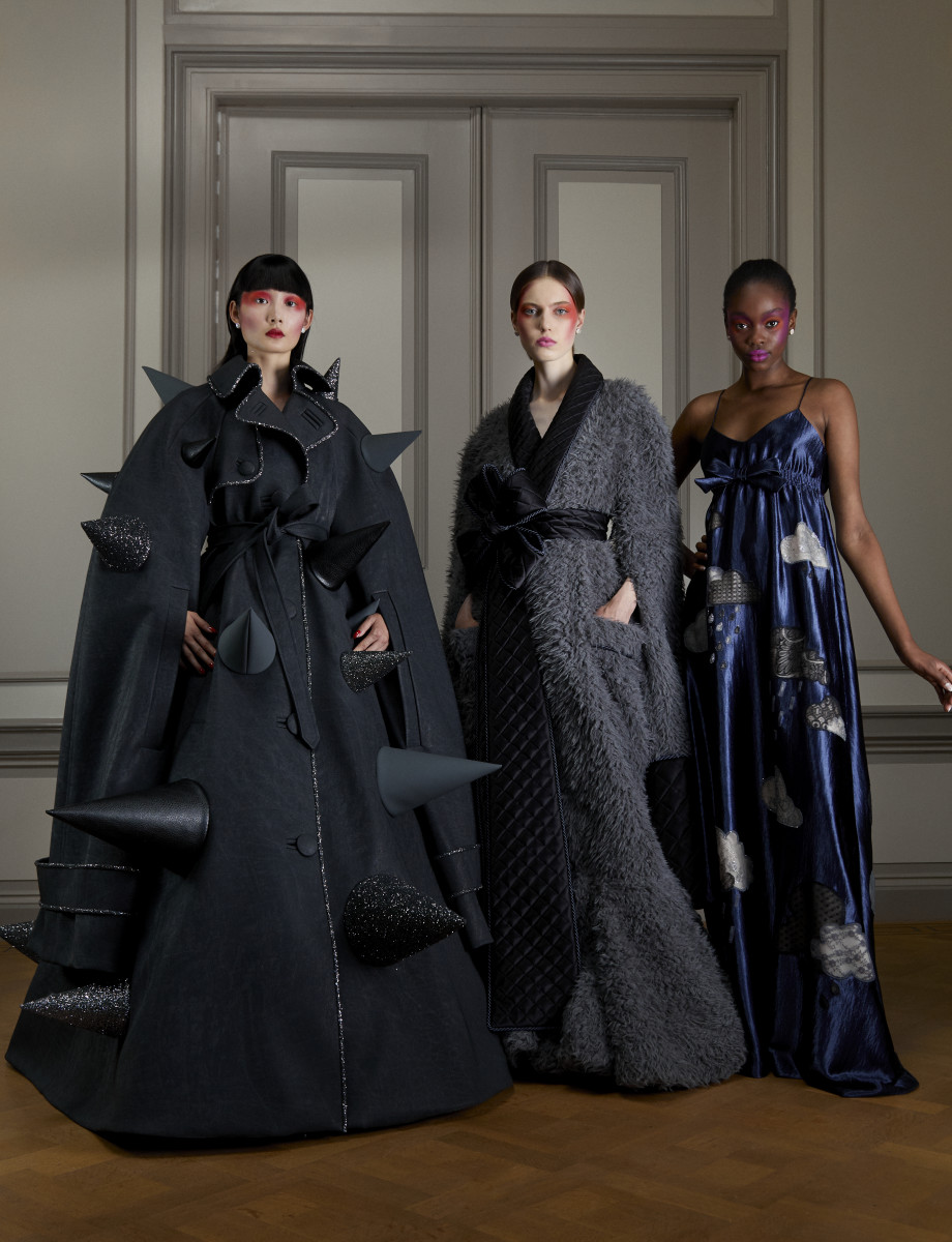 "The first ""mindset"" of Viktor & Rolf's Fall 2020 haute couture collection."