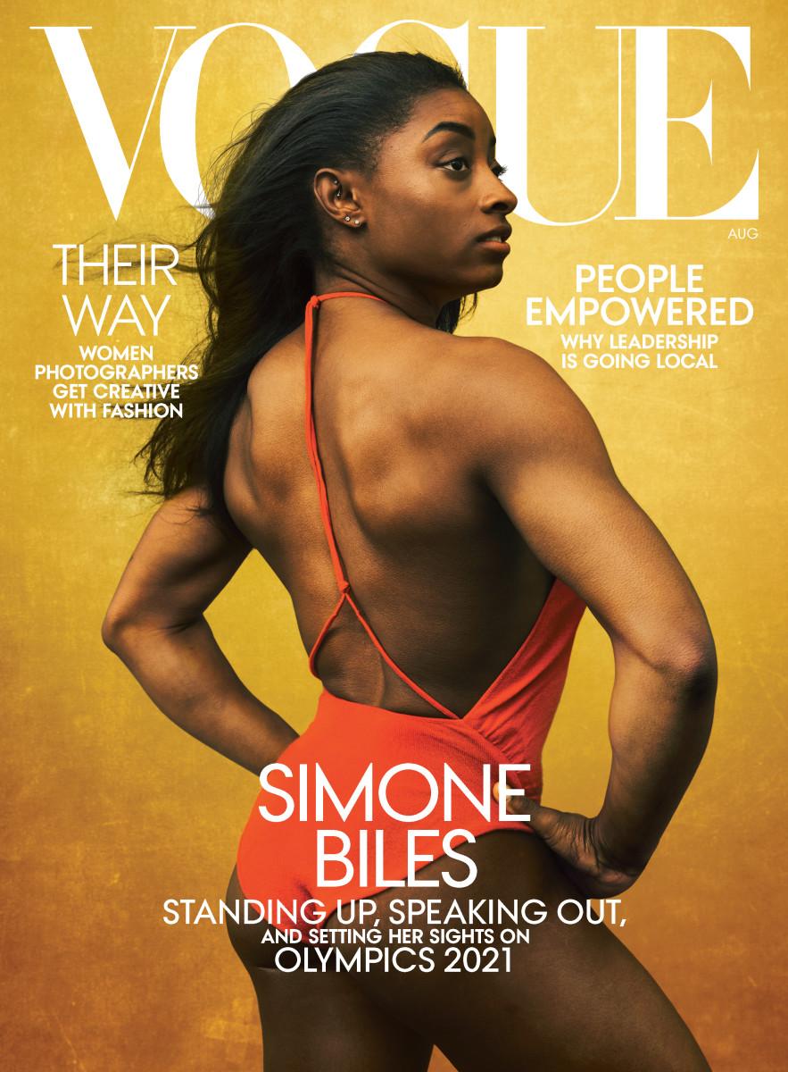 Simone Biles Vogue US August 2020