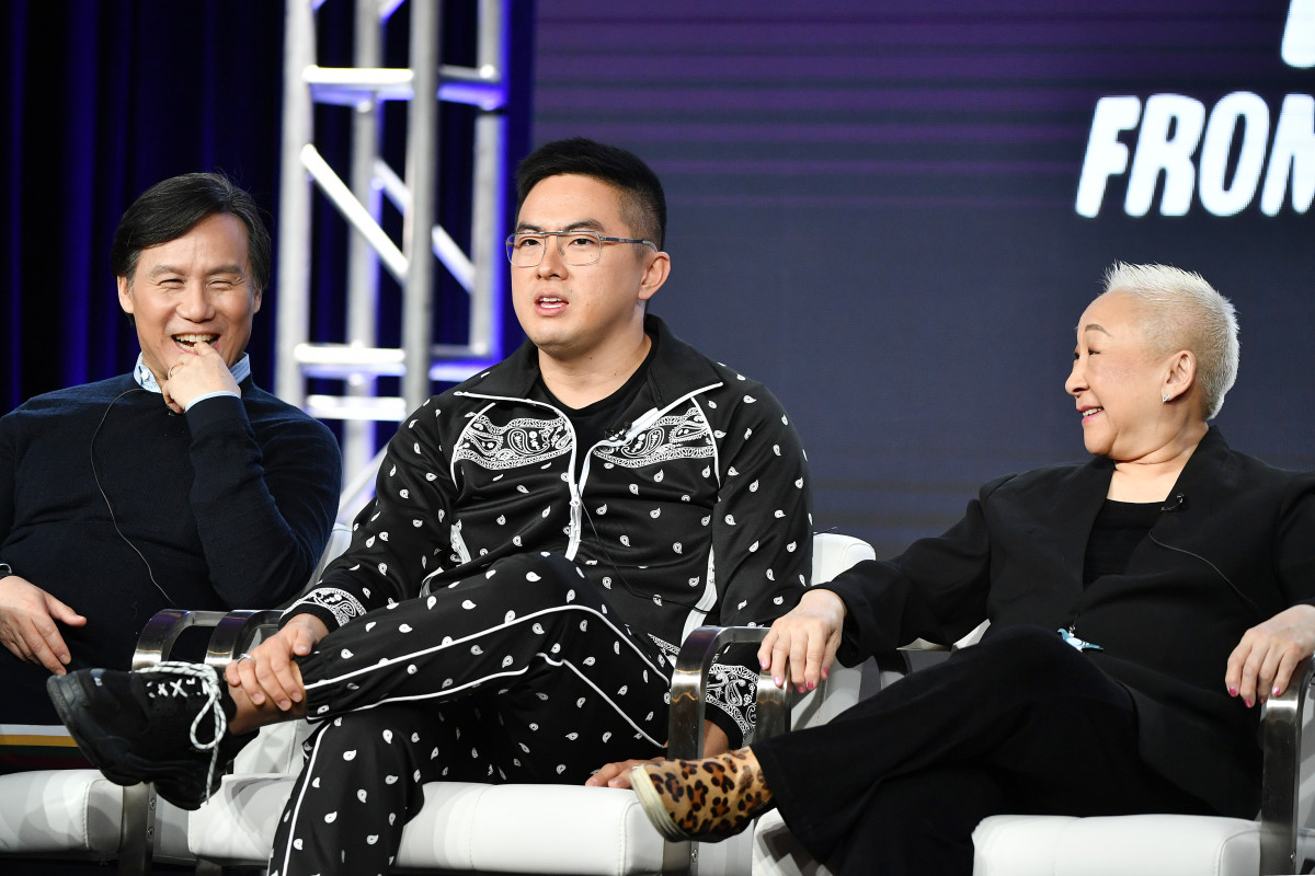 Wong, Bowen Yang and Lori Tan Chinn discuss 'Awkwafina is Nora From Queens.