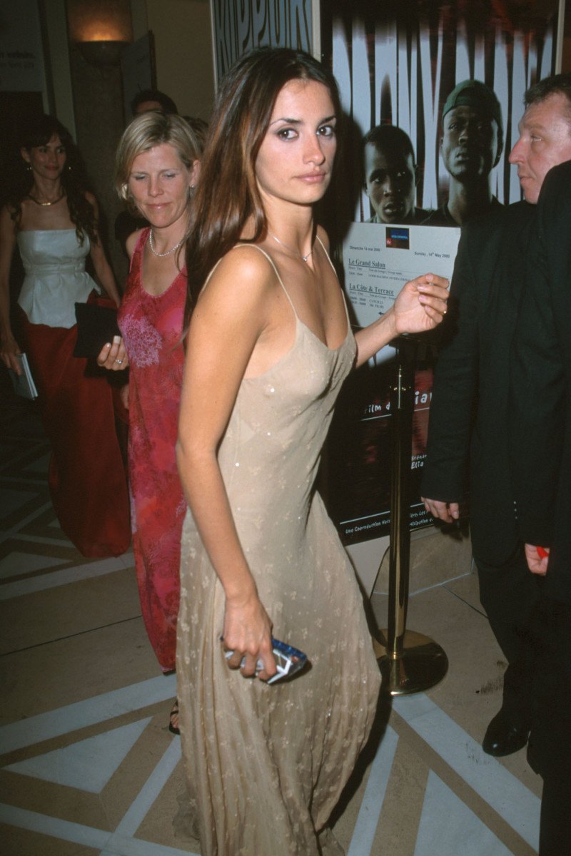 Penélope Cruz at the Cannes Film Festival in 2000.