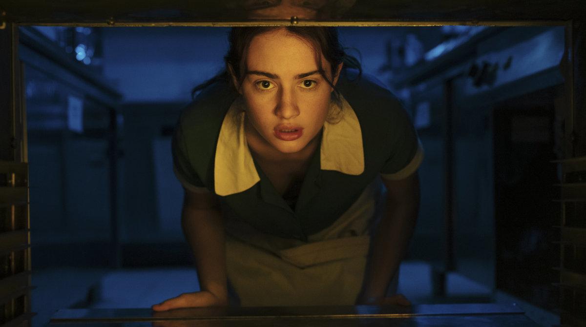 Van Patten as Ana in 'Mayday.'