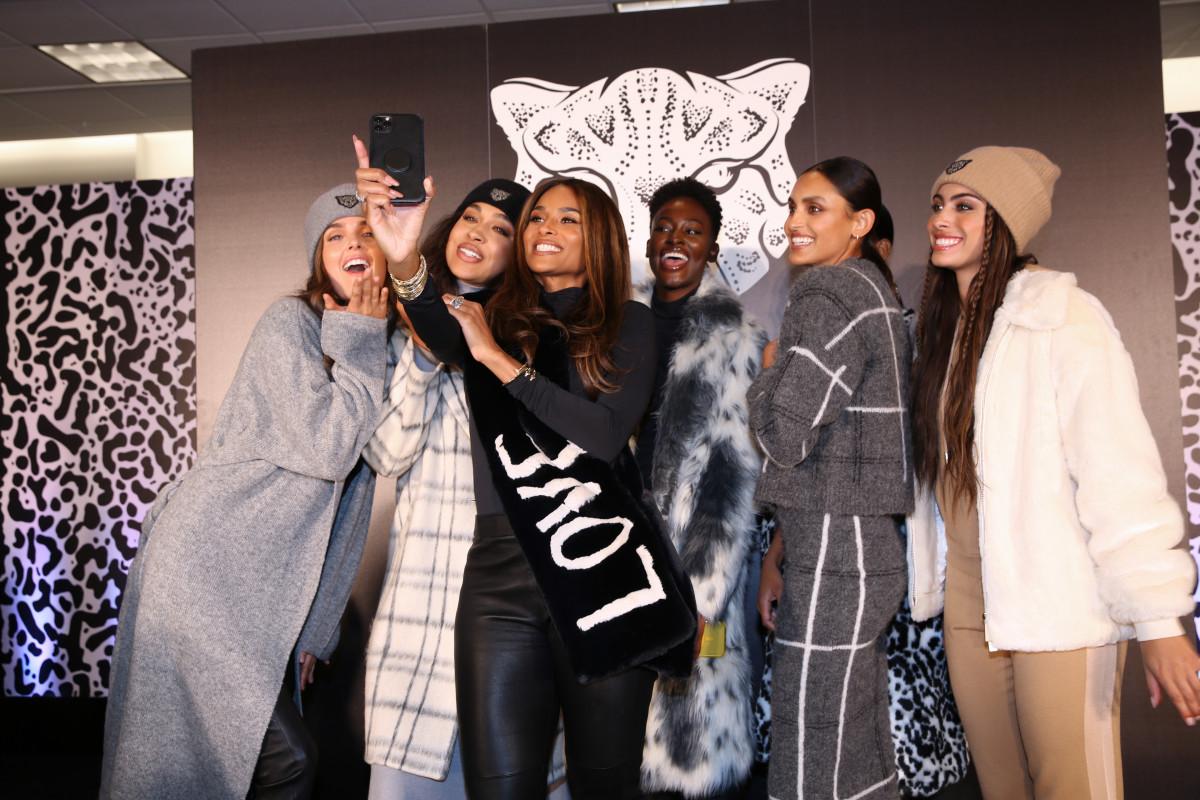 Ciara and models wearing LITA