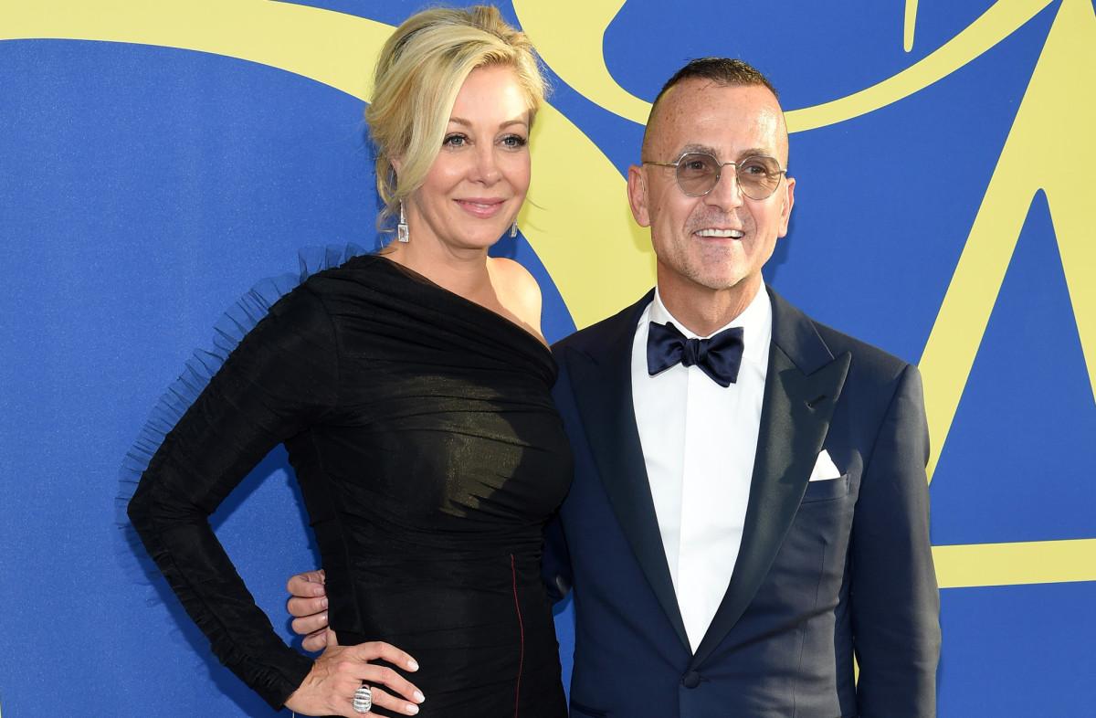 Nadja Swarovski and Steven Kolb