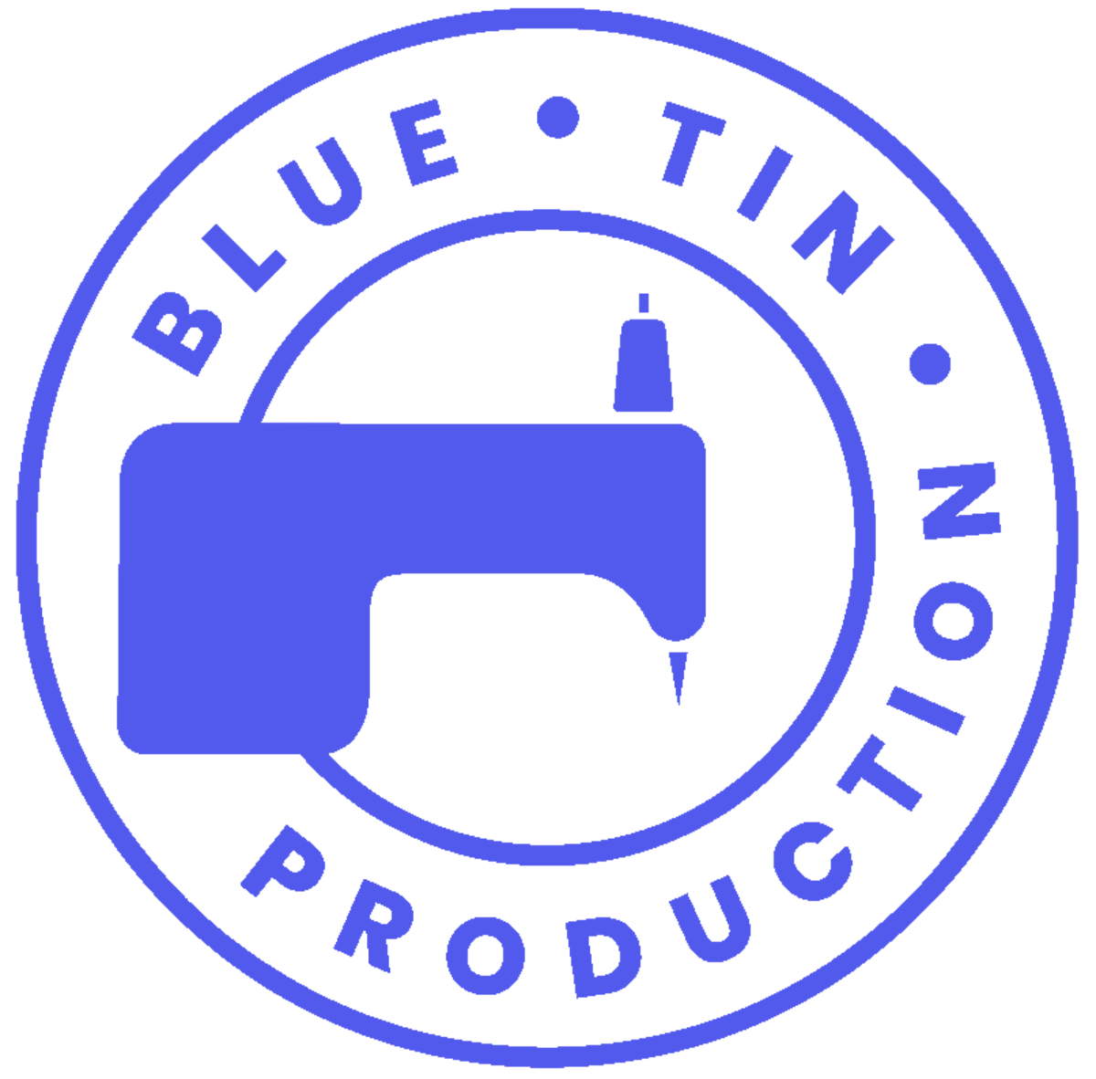 blue tin logo