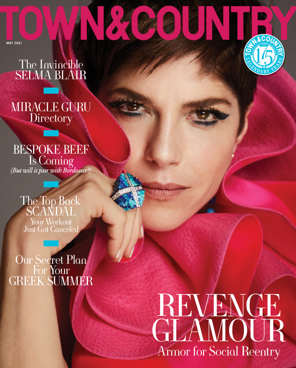 """Selma Blair on the May 2021 issue of """"Town & Country."""""""
