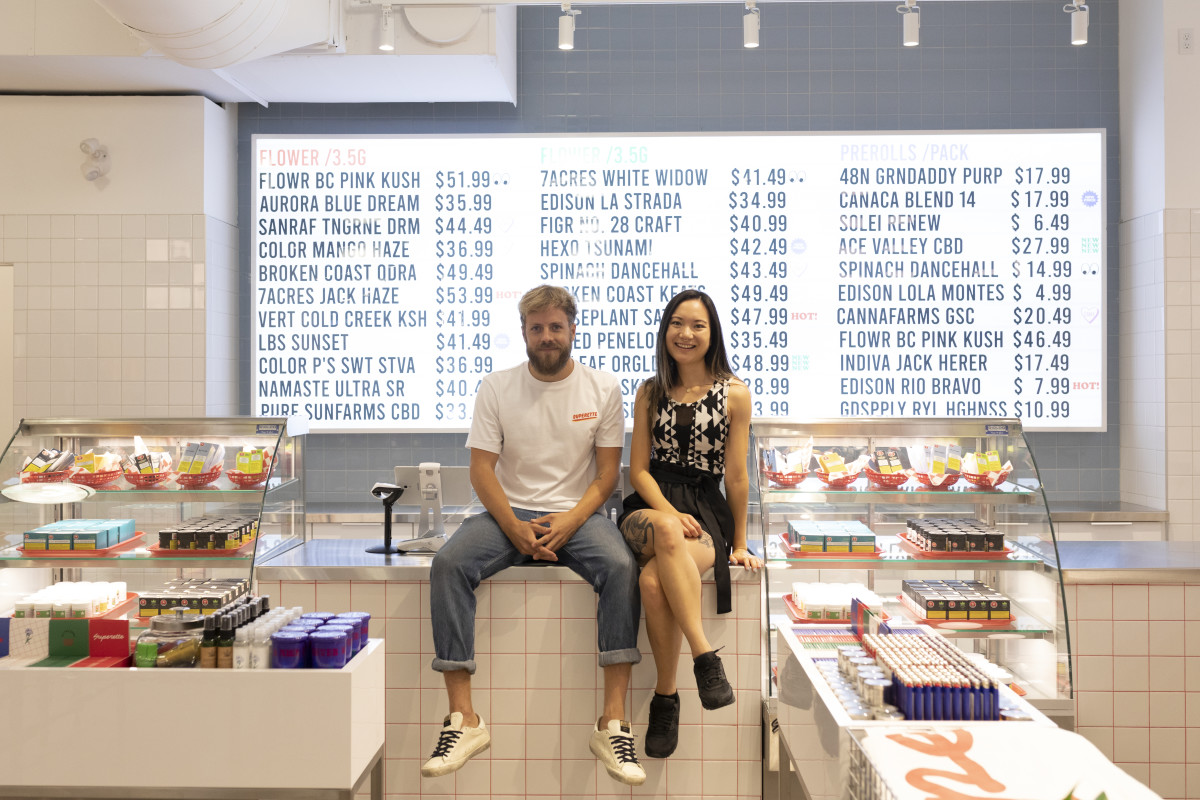 Drummond Munro and Mimi Lam at Superette