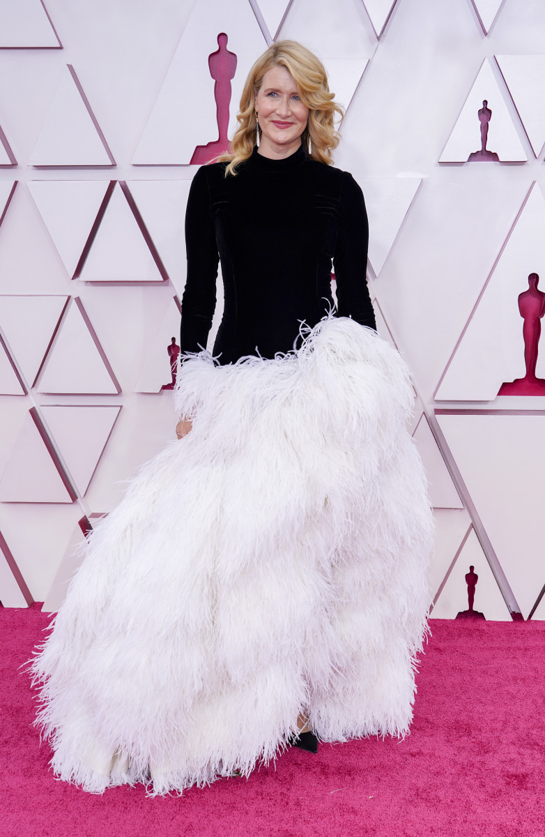 Laura Dern attends the 93rd Annual Academy Awards