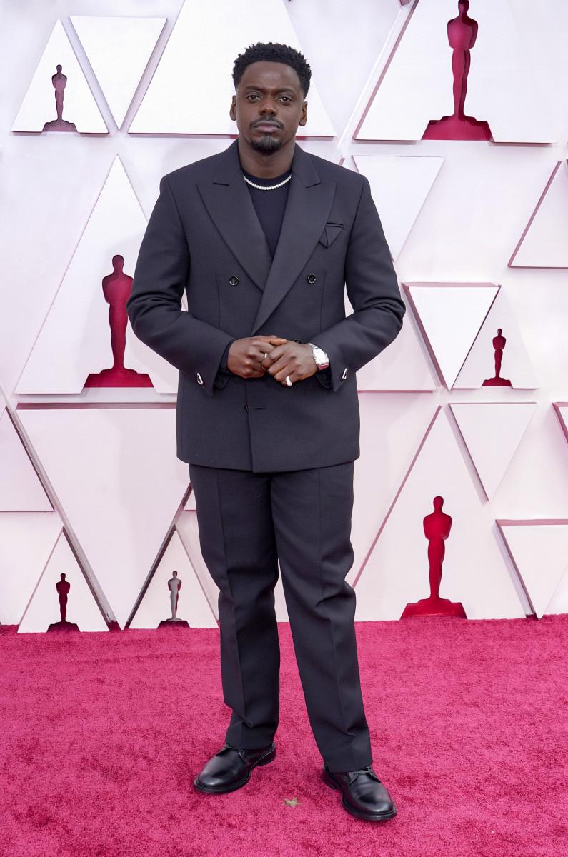 Daniel Kaluuya attends the 93rd Annual Academy Awards