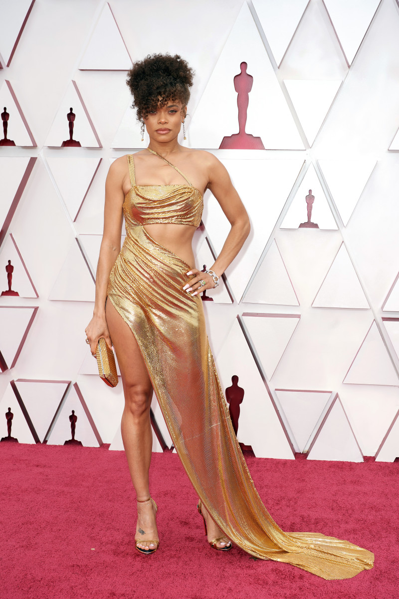 Andra Day attends the 93rd Annual Academy Award