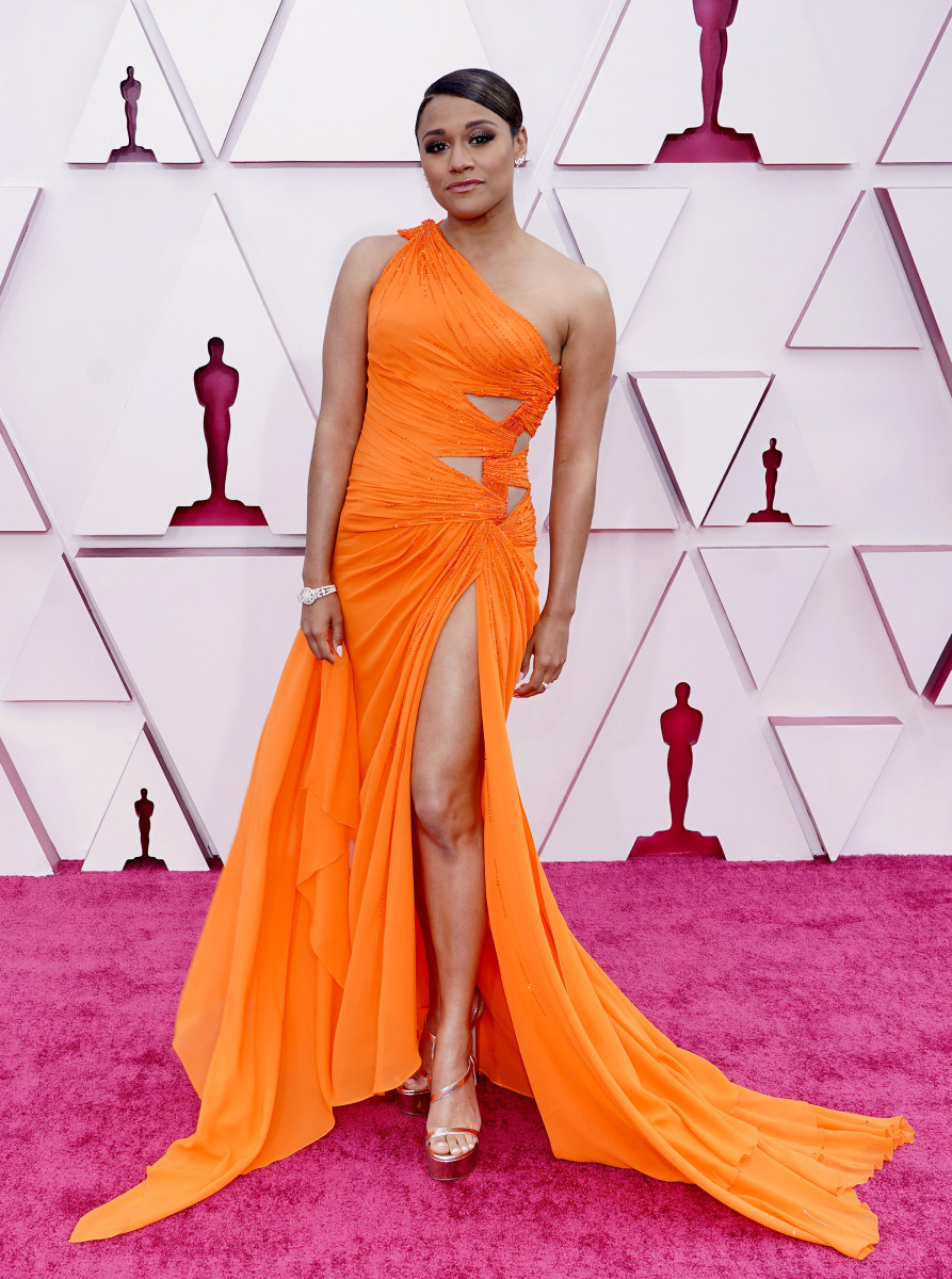 Ariana DeBose attends the 93rd Annual Academy Awards
