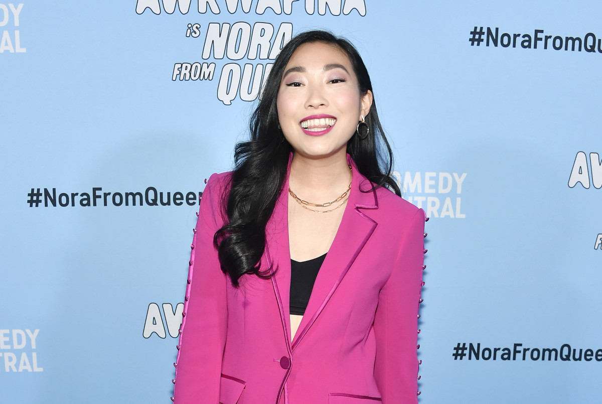 """Awkwafina attends Comedy Central's """"Awkwafina is Nora From Queens"""" Premiere Party"""