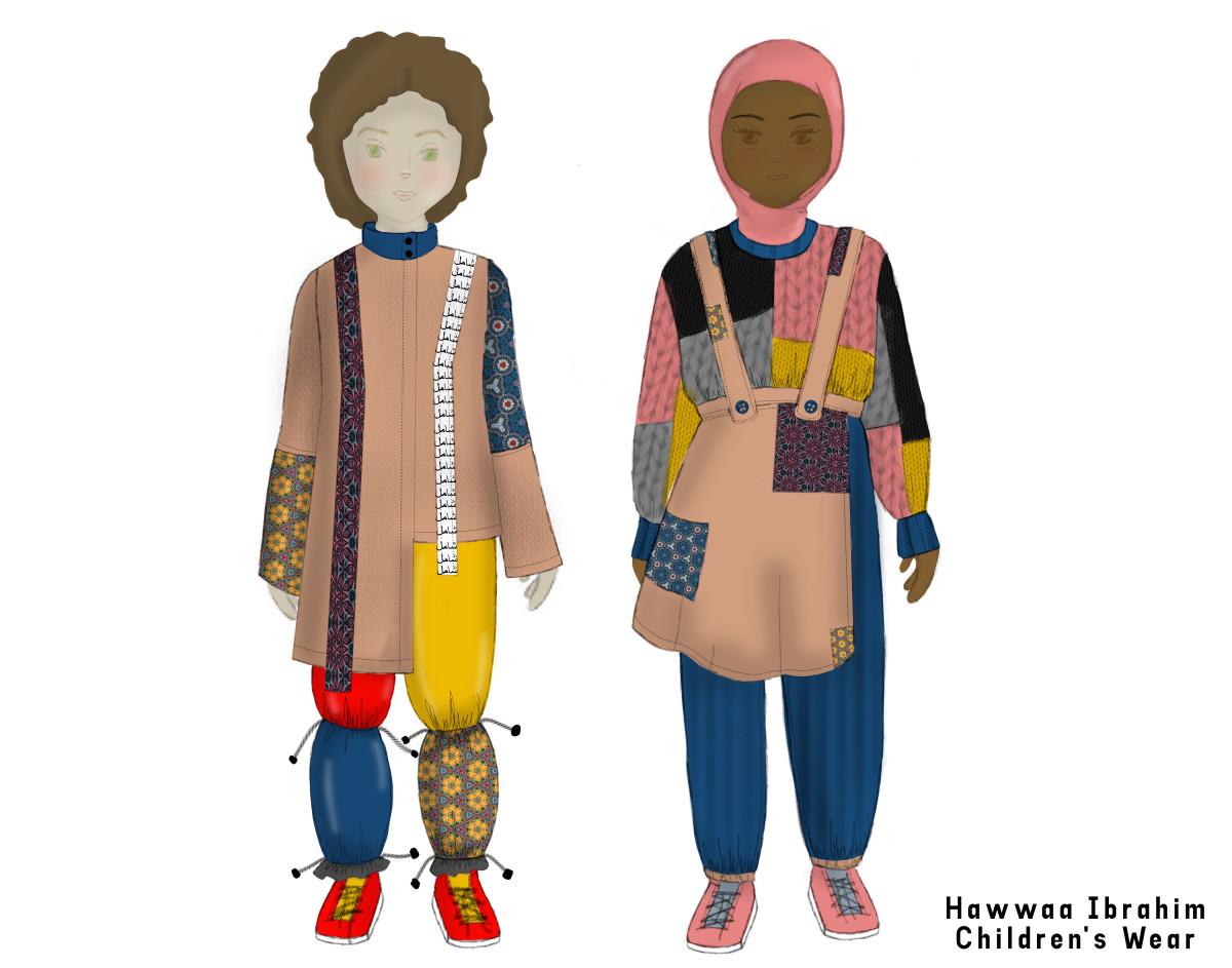 Hawwaa Ibrahim Thesis Sketches (Children_s Wear)